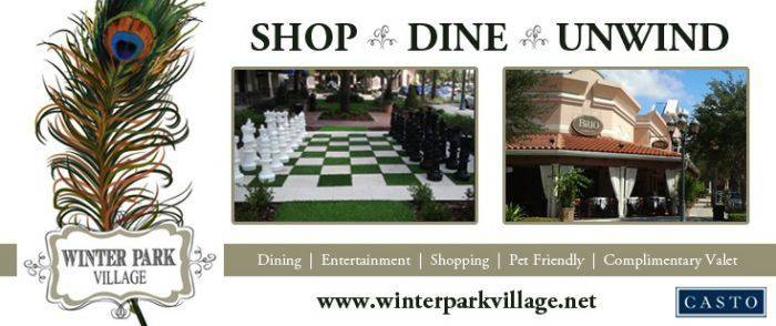 Winter Park Village - Shop, Dine & Unwind